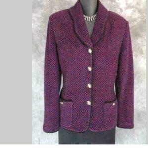 St. John Collection Jacket Shimmer Knit 2